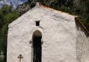 Το εξωκλήσι του Αγίου Γεωργίου στην κάτω Μηλιά.